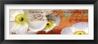 Poppies Composition IV Framed Print