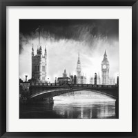 Victoria Tower Framed Print