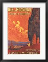 Framed Aix En Provence