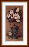 Framed Magnolia Topiary I