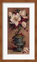 Framed Magnolia Topiary II
