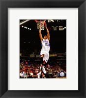 Framed Kevin Martin 2008-09 Action