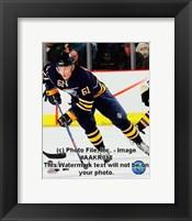 Framed Maxim Afinogenov 2008-09 3rd Jersey