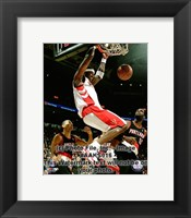 Framed Jermaine O'Neal 2008-09 Action