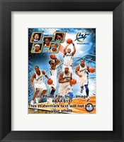 Framed 2008-09 Washington Wizards Team Composite