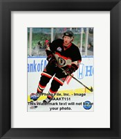 Framed Brian Campbell 2008-09 NHL Winter Classic Action