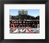 Framed Chicago Blackhawks Team Photo 2008-09 NHL Winter Classic