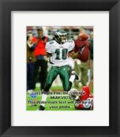 Framed DeSean Jackson 2008 NFC Championship Game Action