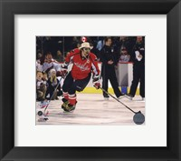Framed Alex Ovechkin 2008-09 NHL All-Star Game Action