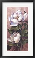 Magnolia Accents l Framed Print