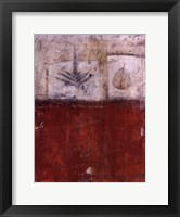 Roja De Cereza Framed Print