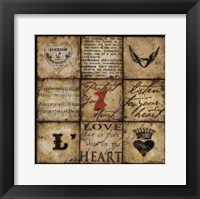 Framed Protect Your Heart