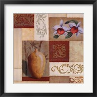 Framed Mandarin Collage I