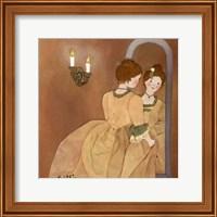 Framed Clemence
