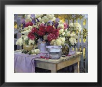 Framed Early Summer Bouquet