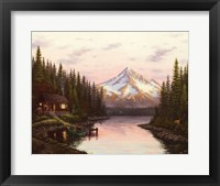 Framed High Mountain Cabin