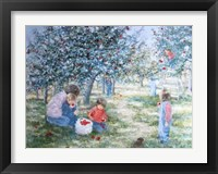 Framed Picking Apples