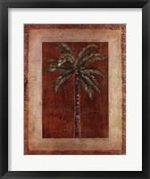 Framed Palm With Border I