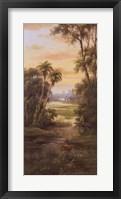 Framed Tropical Lagoon I