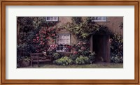 Framed Beatrix Potter's Bench