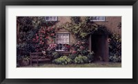 Framed Beatrix Potter's Bench
