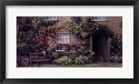 Beatrix Potter's Bench Framed Print