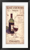 Wine Country IV Framed Print