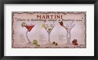 Framed Martini Collection