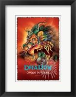 Framed Cirque du Soleil - Dralion, c.1999