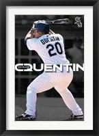 Framed White Sox - Carlos Quentin - 09