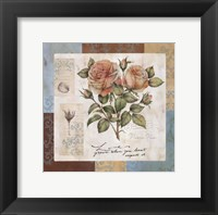 Framed Summer Roses