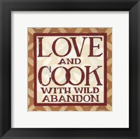 Framed Love and Cook