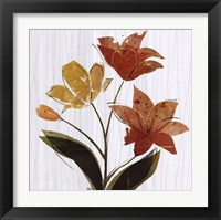 Framed Lily Garden