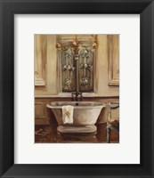 Classical Bath III Framed Print