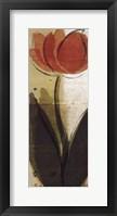 Red Tulips I Framed Print