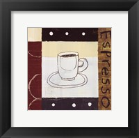 Urban Coffee II Framed Print