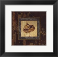 Autumn Leaf Square II Framed Print