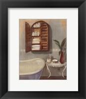 Steam Bath II Framed Print