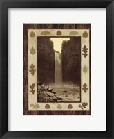 Framed Taughannock Falls