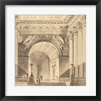 Framed Portico Antico II
