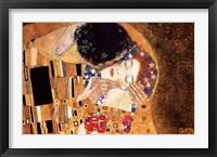 Framed Kiss, c.1908 (detail horizontal)