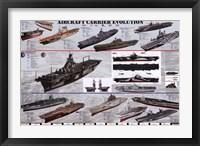 Framed Aircraft Carrier Evolution