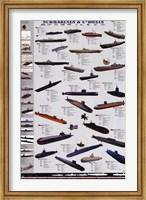 Framed Submarines and U-Boats