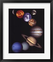Framed NASA - Solar System
