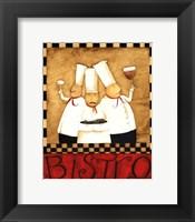 Framed 3 Chefs Wine Bistro 1