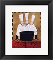 Framed 3 Chefs Soup Bistro 2