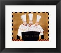 Framed 3 Chefs Tasting