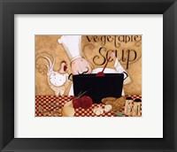 Framed Vegetable Soup