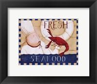 Framed Fresh Seafood