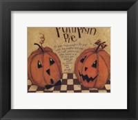 Framed Pumpkin Pie